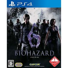 Biohazard 6 SONY PS4 PLAYSTATION 4 JAPANESE NEW JAPANZON