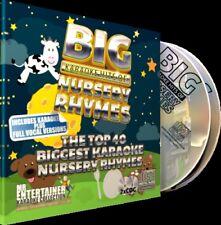 Nursery Rhymes Karaoke CDG Disc Set. Mr Entertainer Big Hits. Childrens.