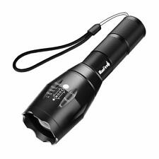 1200 Lumen Super Bright XML T6 Handheld LED Flashlight W Adjustable Focus & 5 Li