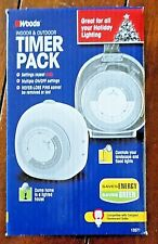 Woods Indoor & Outdoor Timer Pack - Repeats Daily ~Model #13571~