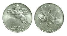 pci2434) Italia Repubblica in Italma - 10 Lire 1950 Ulivo - ex INASTA