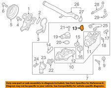 KIA OEM 11-13 Sorento-Engine Water Pump Gasket 256523CAA0