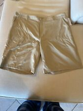 Mens Golf Shorts By Champion Brand New With Tags. Khaki / brown