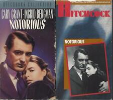 VHS:  ALFRED HITCHCOCK'S  NOTORIOUS......INGRID BERGMAN-CARY GRANT