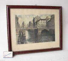 Originaldrucke (1900-1949) aus Europa mit Landschaft und Lithographie