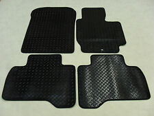 Suzuki Grand Vitara LWB 2005-13 Fully Tailored Deluxe RUBBER Car Mats in Black