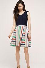 anthropologie french quarter skirt by eva franco, size 10, nwt