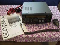 Kenwood TS-570SG HF+6 Meter Amateur Radio Transceiver