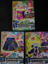 "Trading card of Japanese Animation ""AIKATSU"" Rare Bitter twins coord"