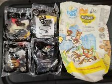 EL TIGRE Manny Rivera McDonald's Happy Meal Toys Nickelodeon Lot of 4 & Bag NEW