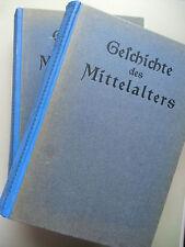 2 Bd. Geschichte des Mittelalters wohl von 1914 Völkerwanderung Kreuzzüge