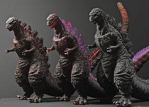 Japan Rare Ichibankuji SHIN GODZILLA Big PVC Figures 3 types Full complete set