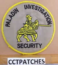 WACO, TEXAS PALADIN INVESTIGATION SECURITY (POLICE) SHOULDER PATCH TX