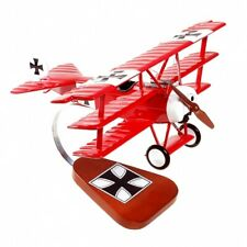 """Fokker Dr.1 """"Red Baron"""" - Hand-Carved 1/20 Scale - Display ready"""