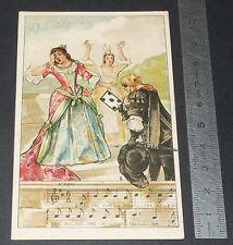 Chromo chocolat de royat 1910-1914 popular song rhyme malbrough 4