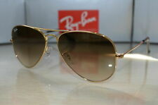 Ray Ban Aviator RB3025 001/51 Gold Frame Brown Gradient 58mm