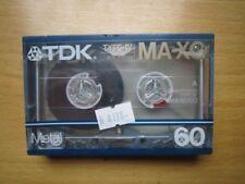 TDK MA-XG 60 METAL cassette, IEC IV/METAL position, NEUVE , rare, C 1986 JAPAN