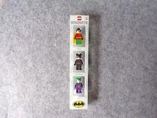 2006 DC Comics Lego Batman 4493781 Minifigure Magnet Set Robin Catwoman Joker