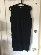 other stories Black Dress. Cut Out Pattern. Knee Length. Uk8