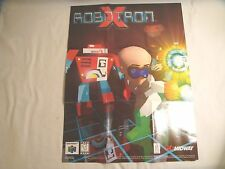 Robotron X Poster N64 Nintendo 64 Poster Only