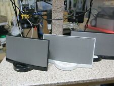 New listing Lot of 3 Bose SoundDock System Series 1 for Part Not Working No Power Supply