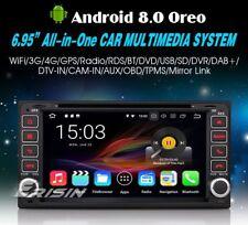 AUTORADIO Android 8.0 Toyota Rav 4 Corolla Terios Prado Land cruiser Navigatore