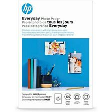 HP Everyday Glossy Photo Paper | 100 Sheets | 4 x 6 in | CR759A