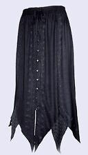 EAONPLUS NEW BLACK Renaissance Gothic Zigzag Skirt - Plus Sizes UK  18 to 32