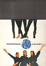 THE DELMONAS - dangerous charms LP