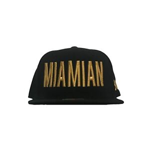 Miamian 305 Miami Dade County Black Snapback Hat Baseball Cap Men Women Unisex