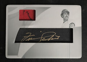 1/1 Immaculate Fergie Jenkins Auto/Relic/Printing Plate **good Looking piece**