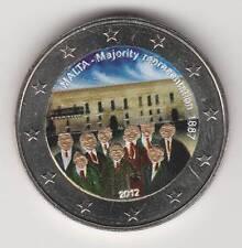 --  2 EURO COULEUR / MALTE 2012A -- MAJORITY REPRESENTATION 1887