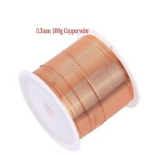Enameled Copper Magnet Wire Magnetic Coil Winding Wire For Making Motor 10m 0.5m