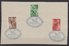 Hungary airplanes stamps on the snippet of paper 1940 USED