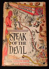 SPEAK OF THE DEVIL AN ANTHOLOGY OF DEMONOLOGY S. North 1st/1st 1945 w/ Dali DJ