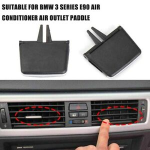 Car Front Center A/C Air Conditioning Tabs Vent Grille Tab for BMW 3 Series E90