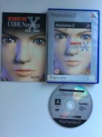 playstation 2 Ps2 Resident Evil Code Veronica X