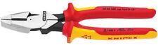 Knipex 09 08 240 VDE Insulated High Leverage Lineman's Combination Cutting Plier