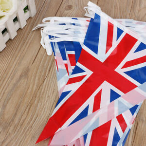 230ft British Union Jack Flag PVC Bunting Banner Royal Decoration Party Outdoor