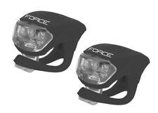 Fahrrad Lampe Front + Heck mit je 2 LED Vorderlicht Rücklicht Rad Bike Licht