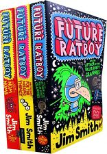Jim Smith Future Ratboy 3 Books Collection Set The Attack of the Killer Robot