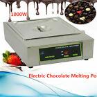 1-Tank Chocolate Melter Melting Machine Electric Water Heating 110v 8kg 110v NEW