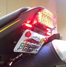 Honda Grom MSX125 SS Fender Eliminator Kit w/ LED Brake & Turn Signals FR- Smoke