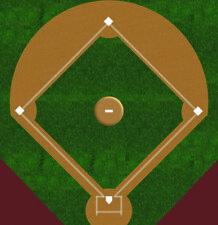 HO Scale Baseball Field Model Train Scenery Sheets – Unique Train Layout Feature