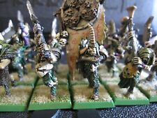 Warhammer Beastmen Pestigors Regiment metal OOP RARE fully painted