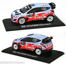 HYUNDAI Motorsport i20 WRC Rally Diecast Model Car 1:38 Mini Car Toy