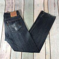 Vintage LEVI'S 505 Regular Straight Fit Men's Blue Jeans W31 L32