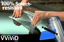 "VViViD Clear Bra Paint Protection Bulk Vinyl Wrap Film 12"" x 120"" Including 3M"