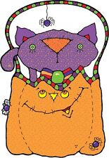 30 Custom Trick or Treat Cat Personalized Address Labels