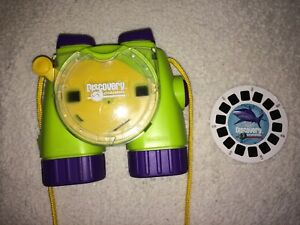 Discovery Channel  View Master by Fisher Price 1998 in green w/ 1 Reel